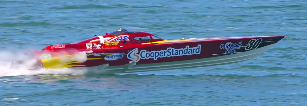 Superboat Extreme is Super Boat International's fastest V-bottom class.