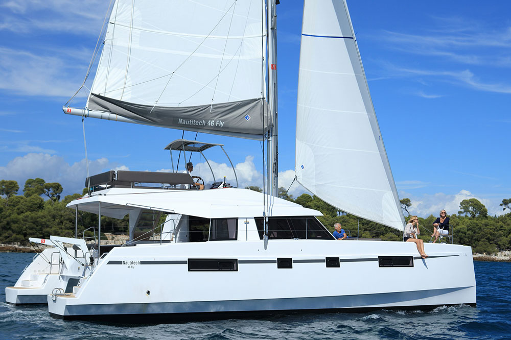 Bavaria Nautitech 46 Fly: Adventure Time