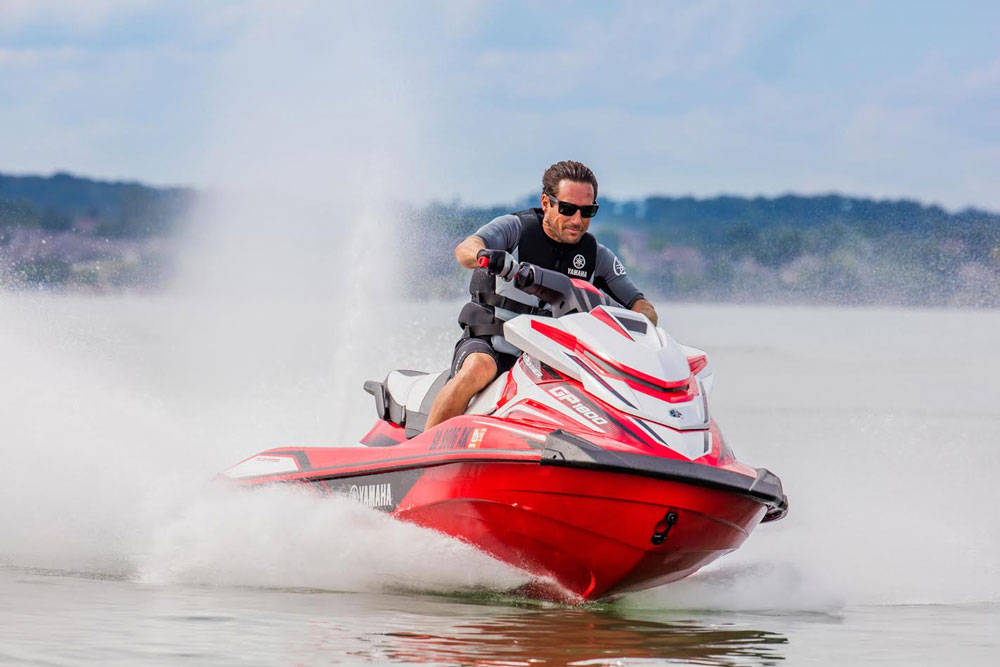High performance fans will want to check out the Yamaha WaveRunner GP 1800.