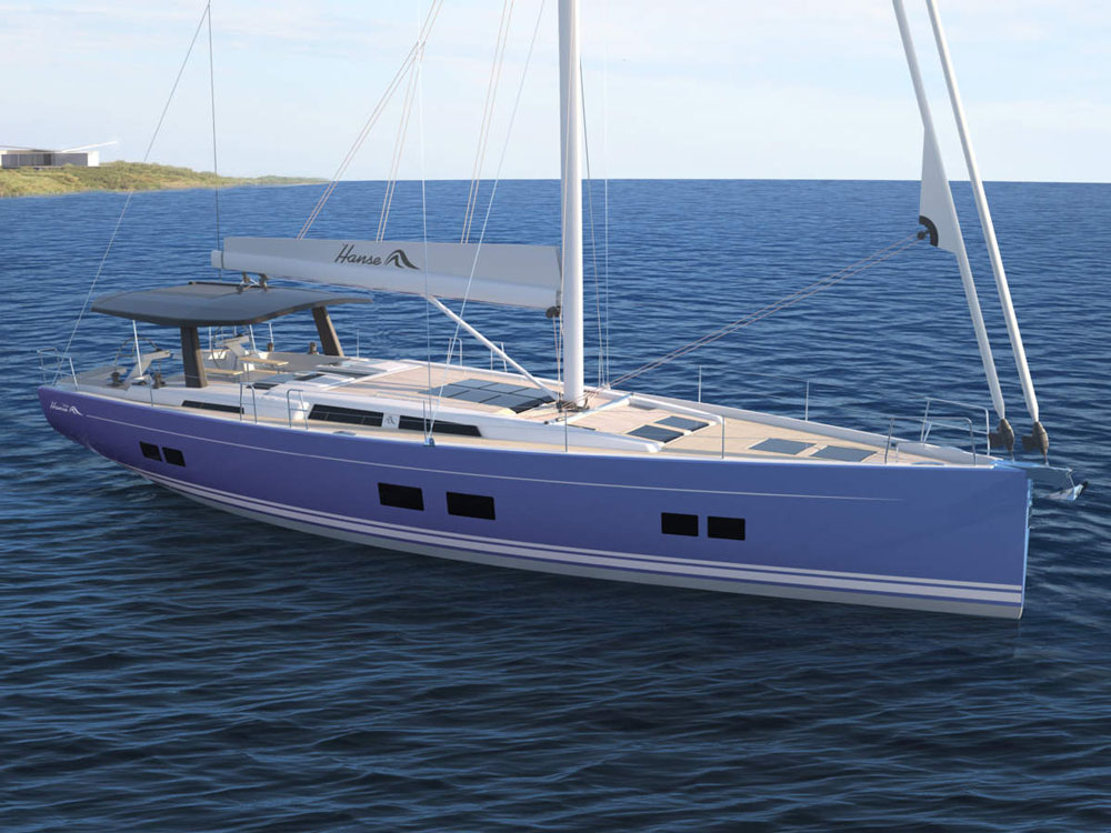 Hanse 588: First Look Video