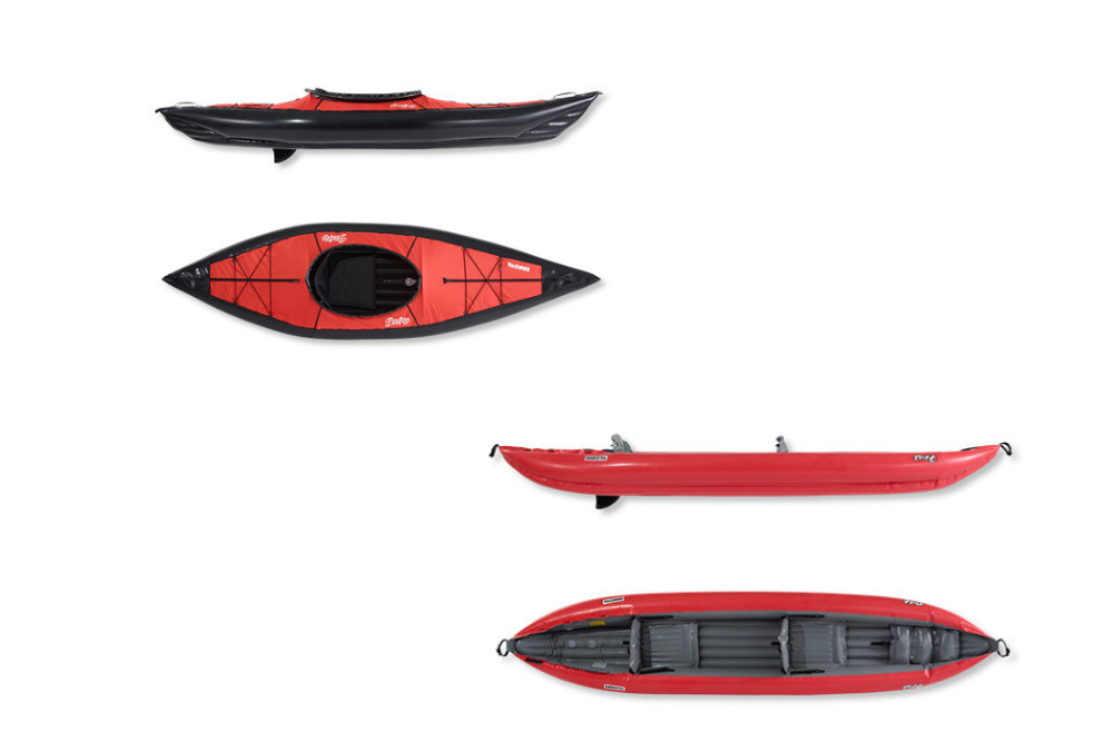 Available online at L.L. Bean, boaters can find deals on the popular inflatable Innova Kayaks, including the Twist I & II and the Swing I & II models.