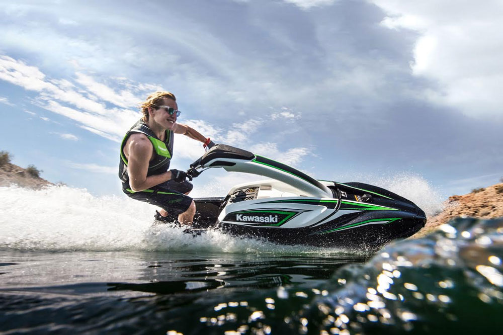 Ready for some stand-up fun? The Kawasaki Jet Ski SX-R may be in your future.