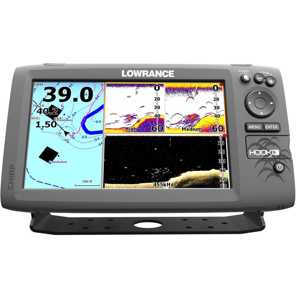 Make the fisherman in your family smile, with new electronics like the Lowrance Hook-9.