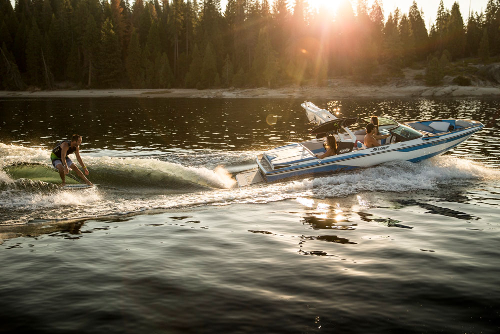 Watersports boats designed for wake surfing are expensive. Very expensive. But the Supreme S202 breaks that mold.