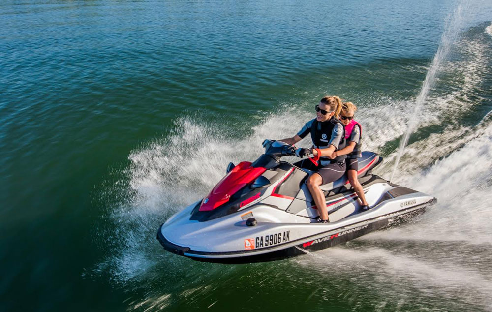 The Yamaha WaveRunner EX series provides excellent value for a low cost PWC.