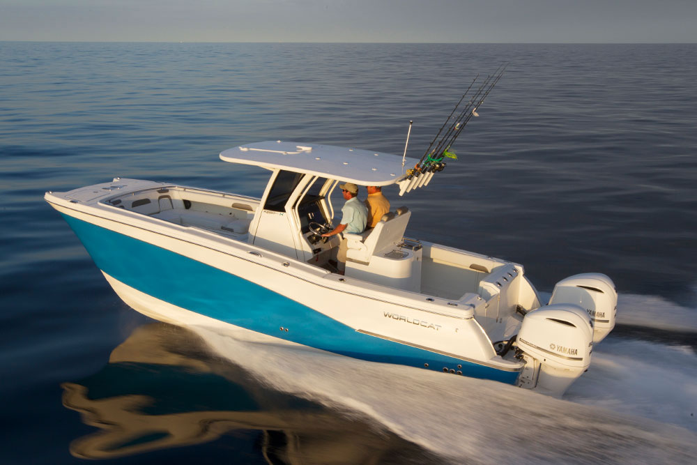 Ready for some serious fishing? The World Cat 280 CC-X is.