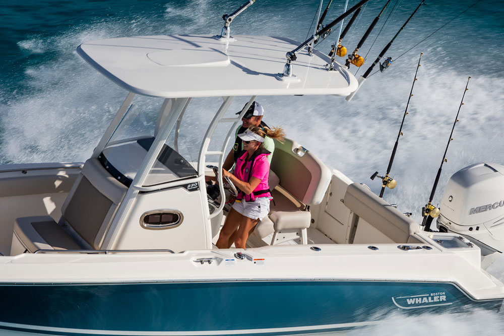 Boston Whaler 230 Outrage Review - boats com