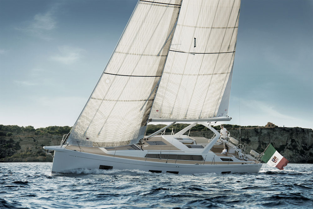 The design of the new 46LC is intended to maximize three key aspects of life aboard: space, elegance, and safety.