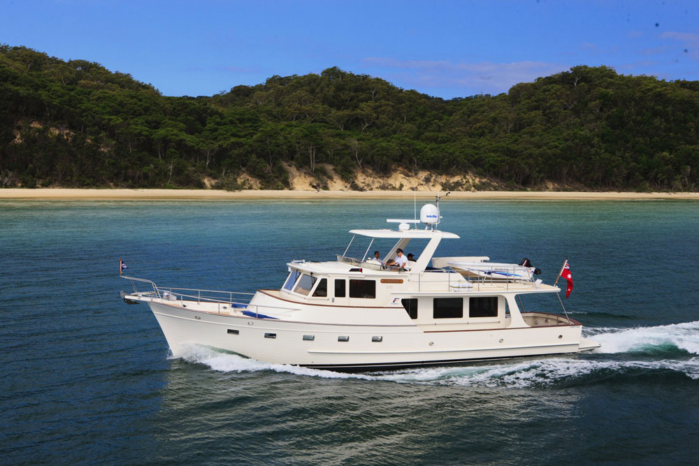The Fleming 55 is a delicious blend of luxury, performance, seaworthiness, and style.