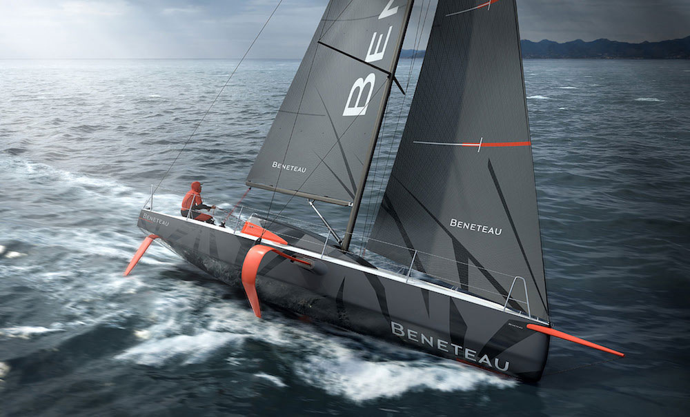 The new Beneteau Figaro 3. Contemporary? Yeah, you could say that.