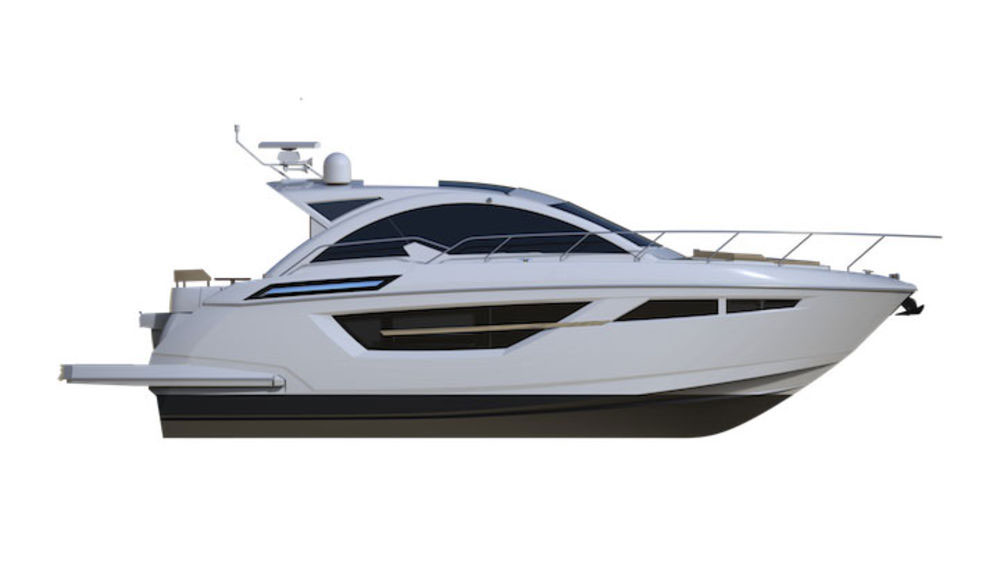 The new Cruisers 50 Cantius joins a line-up of 11 popular Cruisers yacht models.