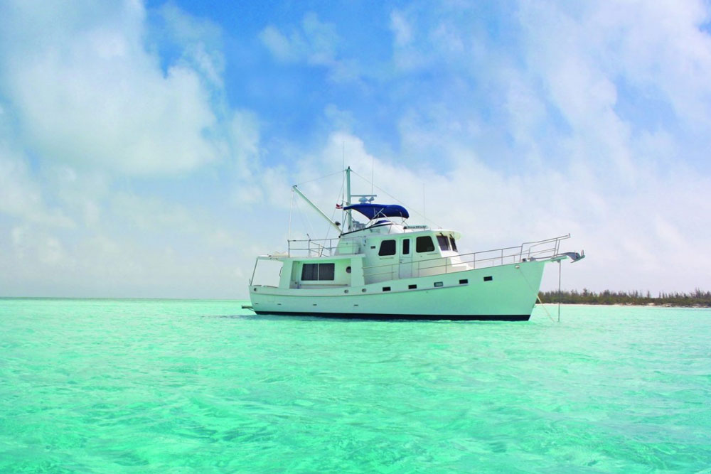 Five Affordable Trawlers Over 40 Feet