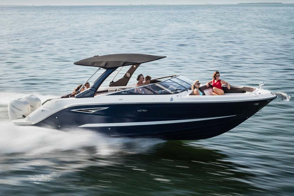 Sea Ray 310 SLX OB: First Look Video