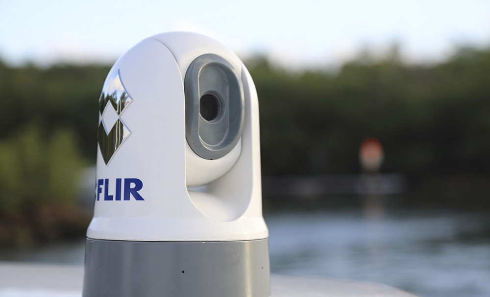FLIR's new M100 and M200 thermal imaging cameras are the most compact the company has ever manufactured. FLIR photo.