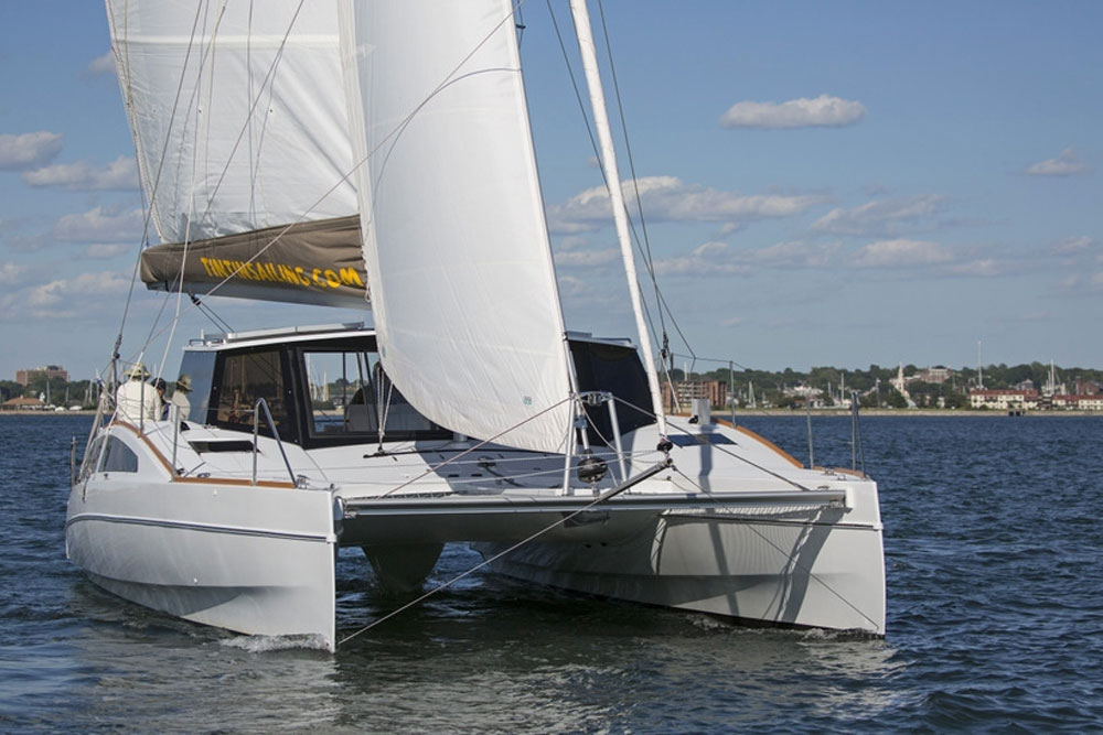 Maine Cat 38 Review