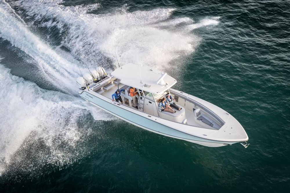 The 2018 Mako 414 CC has more than mere mass.