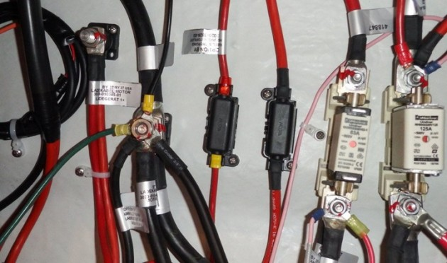 10 electrical problems every boater should watch out for boats comthe terminal shown center left is so overloaded that the nut threads are half
