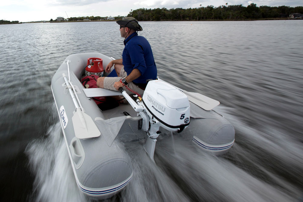 The Outboard Expert: Tohatsu Propane Outboard Engine