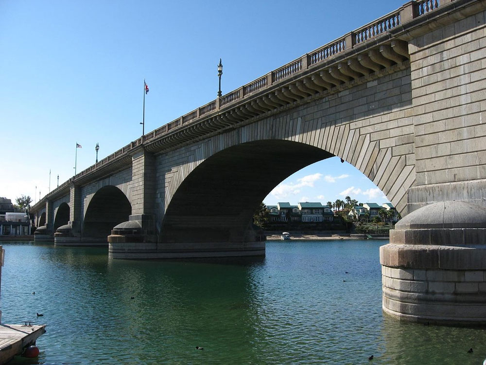 The famed London Bridge now spans Lake Havasu, but is just one among many attractions of the lake.
