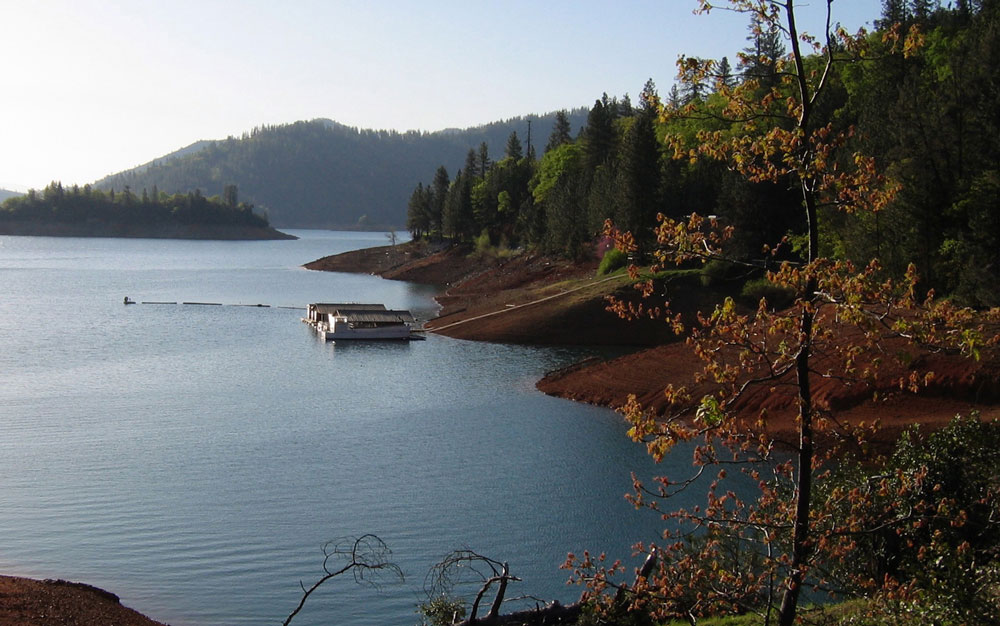 Although low water levels have plagued Lake Shasta in the past, it's now back to full levels.