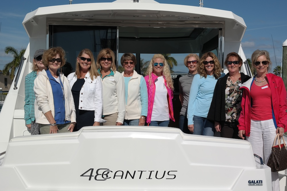 Training courses such as Ladies at the Helm, offer women training in boat handling and seamanship to gain confidence in their knowledge and skills. Angela Jackson photo
