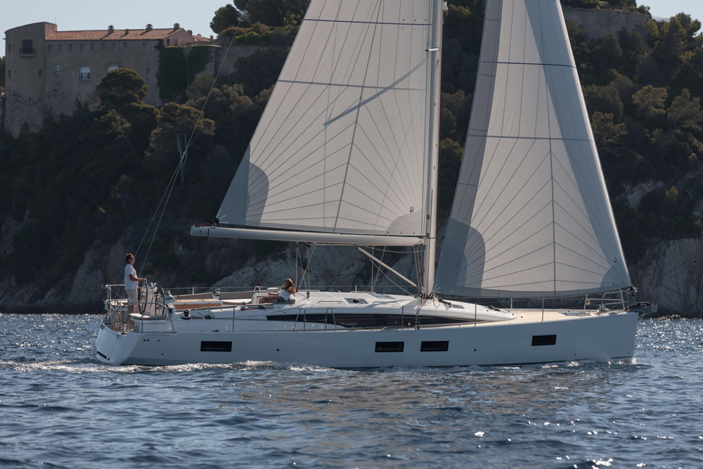 The Jeanneau Yachts 51 benefits from a sail plan that's not only generous but also versatile.
