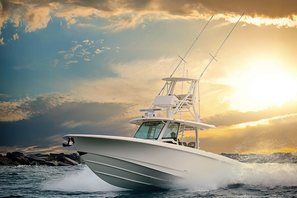 Boston Whaler 380 Outrage: Video Boat Review