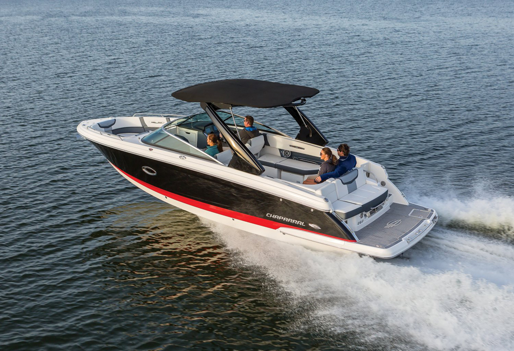 Even experienced boaters moving up from smaller models could buy the 287 SSX in stock form and still want for nothing.