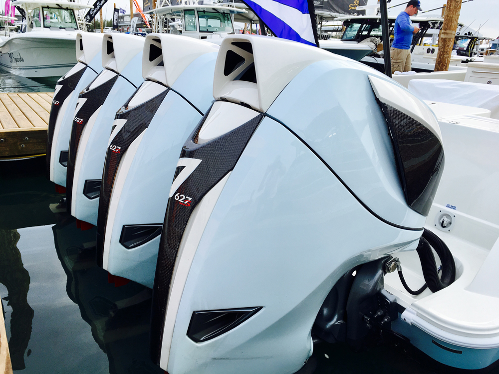 According to Volvo Penta the two companies will collaborate to continue to develop Seven Marine's outboard