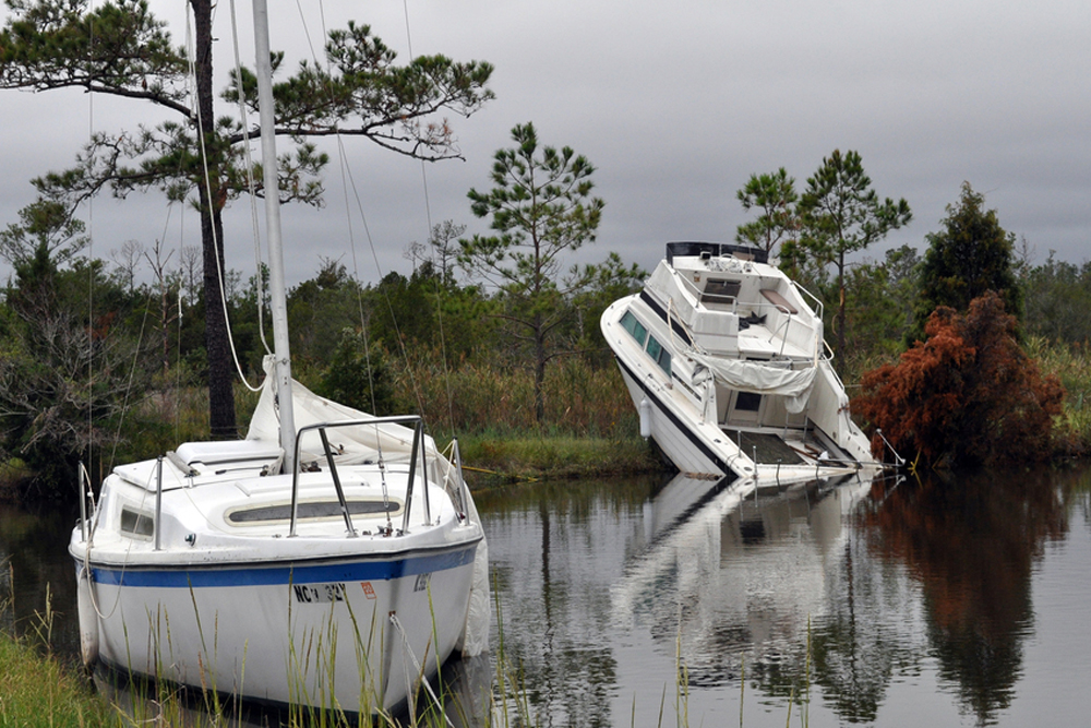 Post-Hurricane Boat Salvage Tips