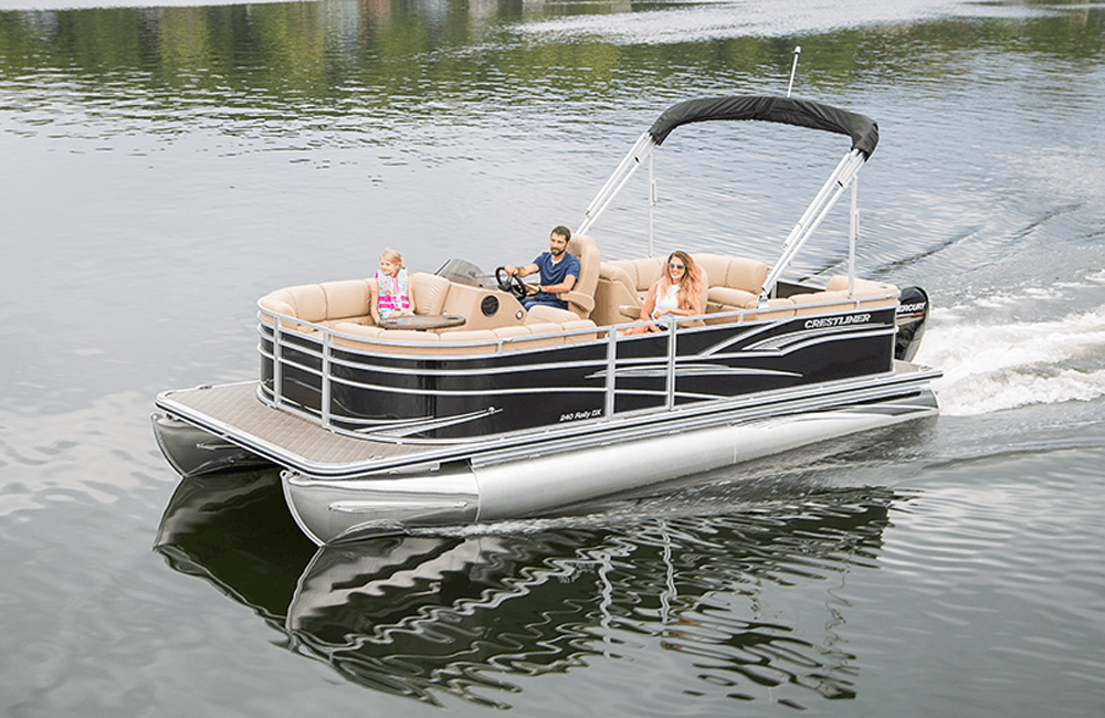 "For a boat that will usually be used on lakes and rivers the 24 Rally DX is surprisingly well-built, including an extensive use of stainless-steel. In fact, the only thing the ""Saltwater Package"" adds is sacrificial anodes."