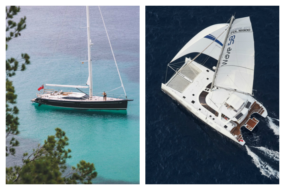 Catamarans vs. Monohulls on Charter