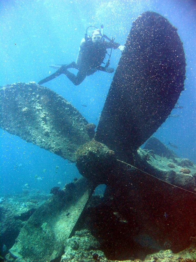 Truk Lagoon, Micronesia