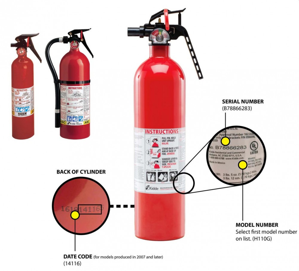 ALERT: Recall of More than 40 Million Kidde Fire Extinguishers