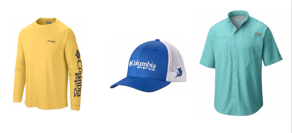 You can find all the fishing apparel you need at Columbia Sportswear.