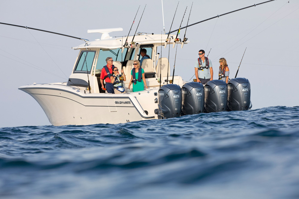 Grady-White Canyon 456: Boat of the Month Sit-Down with Center Consoles Only