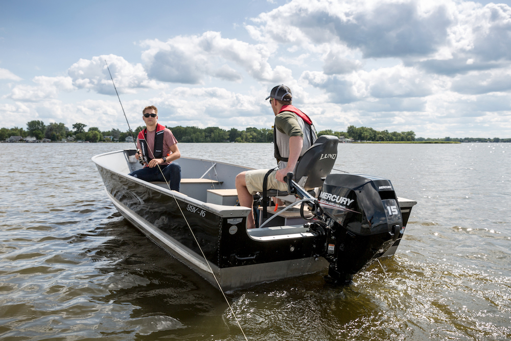 New Mercury FourStroke 15 HP and 20 HP Outboards Debut - boats com