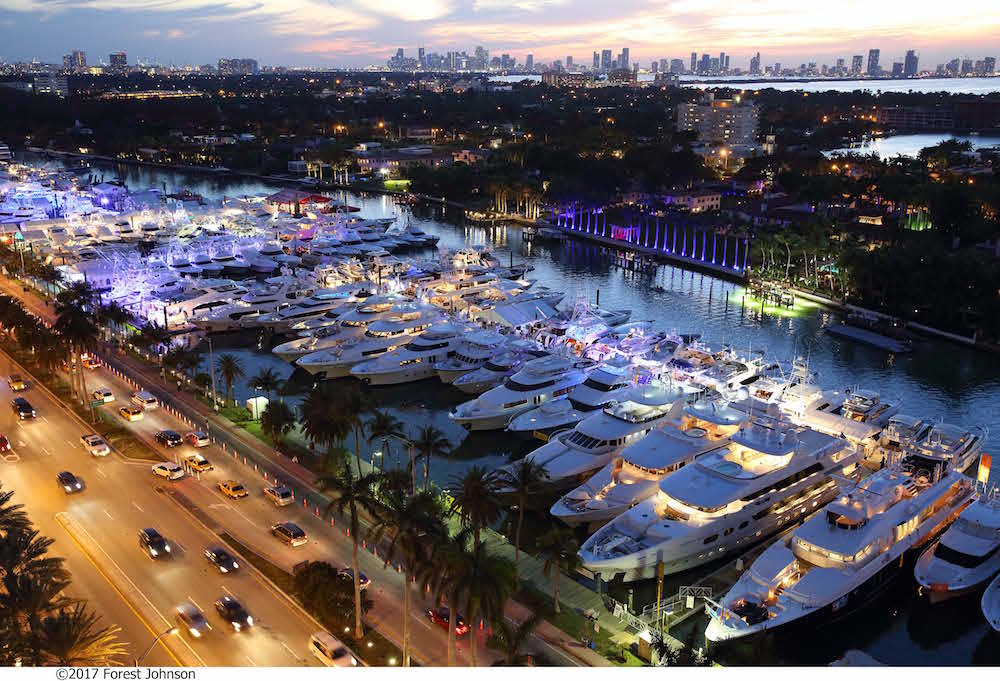 Miami Yacht Show at Collins Avenue: New Boats, Hot Bars and More