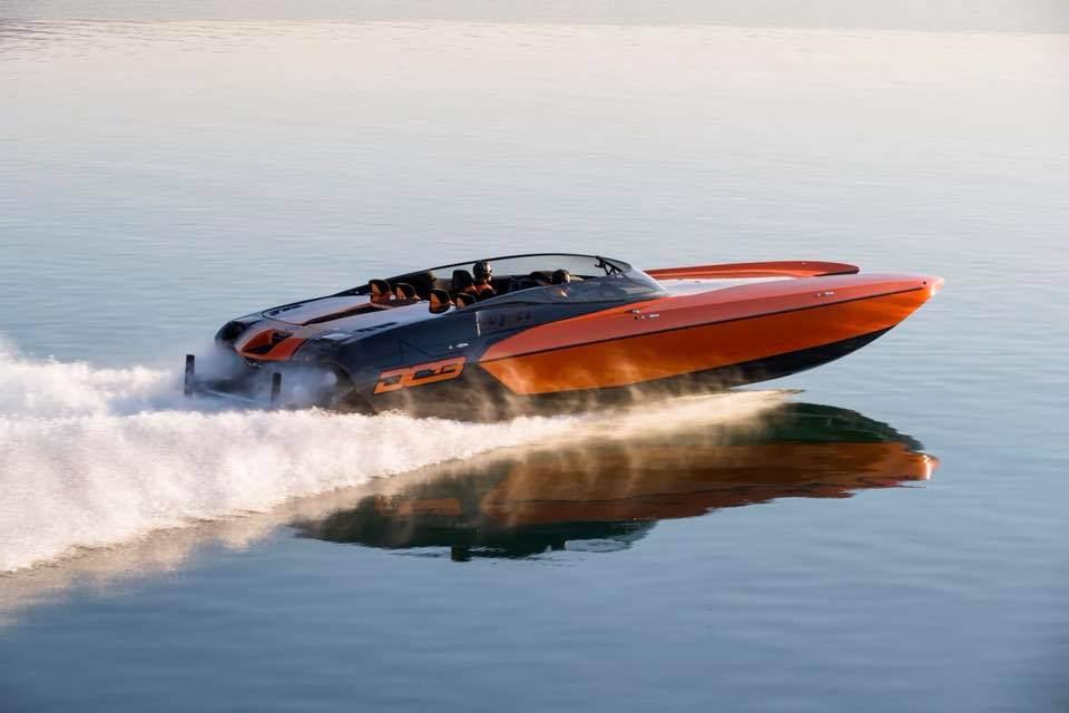 DCB Tests First Mercury Racing 860-Powered Catamaran