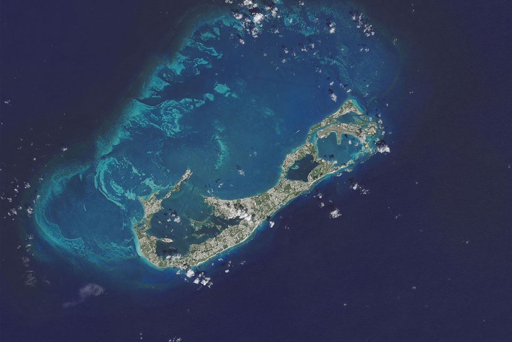 Though it's a mere speck in the sea from space, Bermuda is a deep sea fishing mecca.