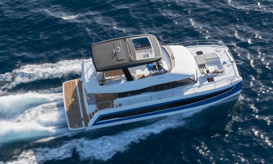Fountaine Pajot Catamaran Motor Yacht MY 44 Review