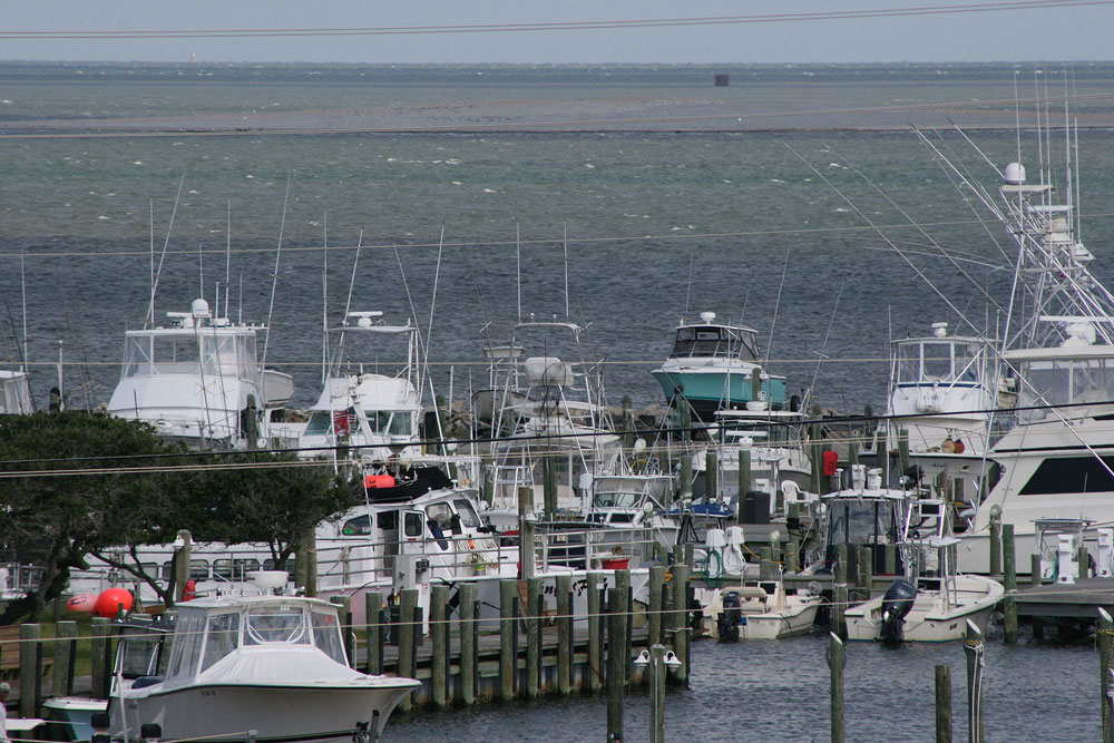 The Outer Banks of North Carolina houses several modern fishing fleets, ready to take you on your deep sea adventure.