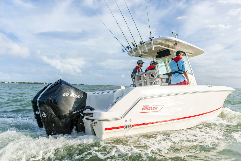 Mercury V-6 FourStroke Outboards Debut in Miami