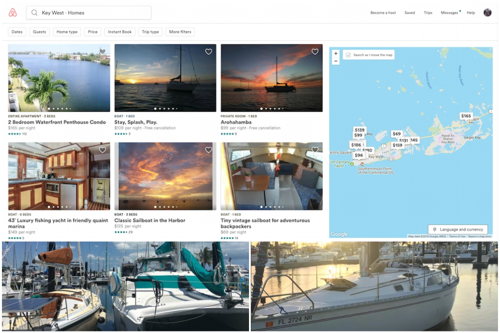 Airbnb and Homeaway: Think 'Boat' Instead of 'Hotel'