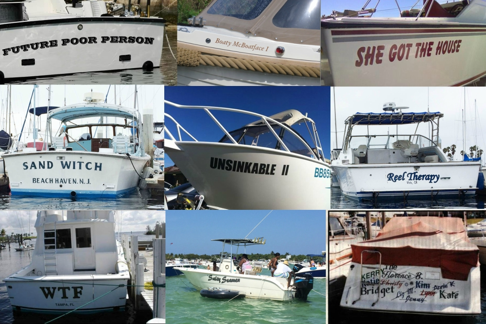 Why Giving Your Boat a Good Name is Everything: Tips for Naming Your Boat