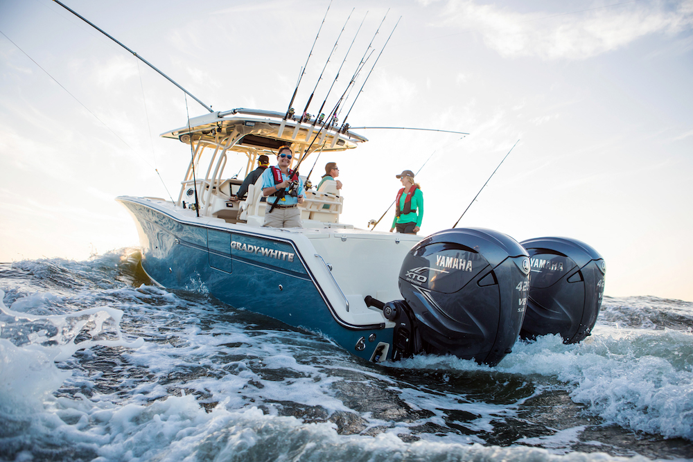 Big New Yamaha XTO Offshore 425 Outboard Revealed