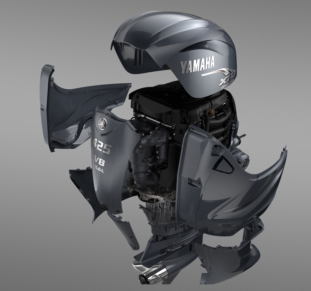 Big New Yamaha XTO Offshore 425 Outboard Revealed - boats com
