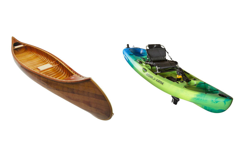 Canoe vs. Kayak
