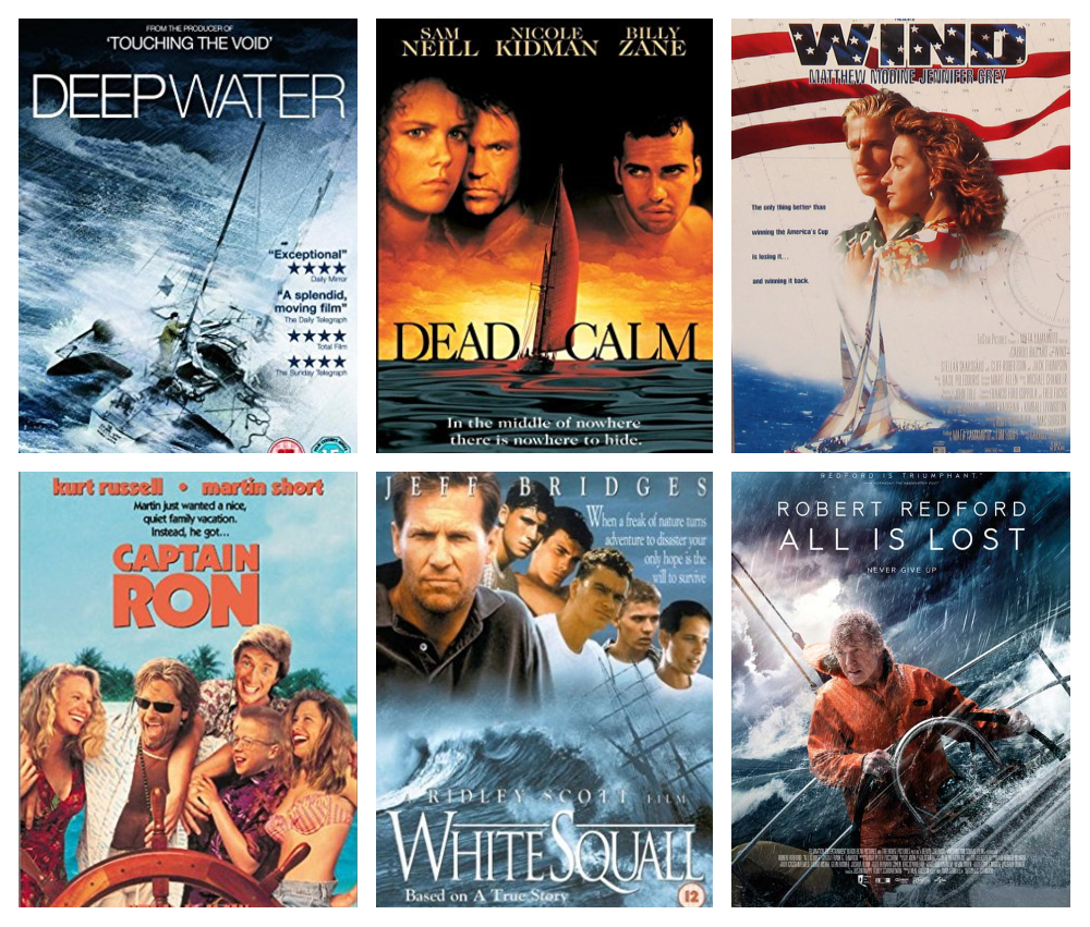 5 Top Sailing Movies & One Really Bad One