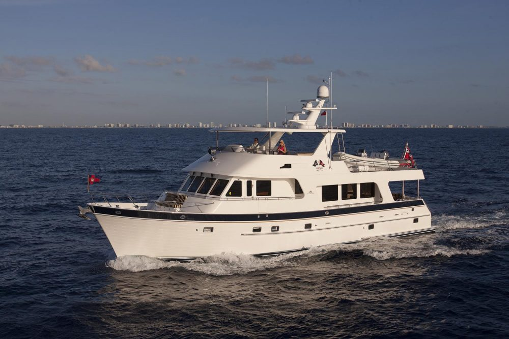 Outer Reef 700 Long Range Motoryacht (LRMY) Review